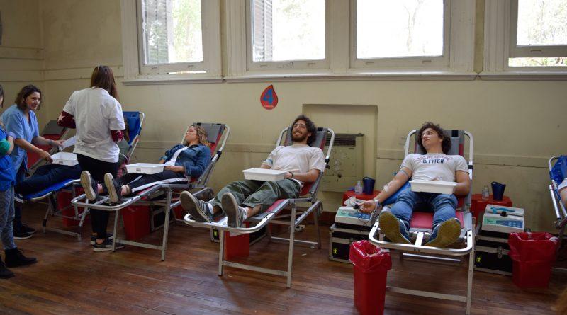Jornada de extracción de sangre