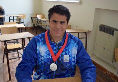 Antonio obtuvo Medalla de Plata en el 1º Mundial Juvenil Paralímpico
