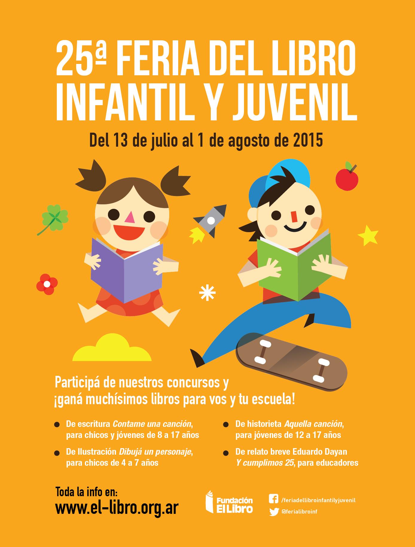 25º Feria del libro infantil y juvenil