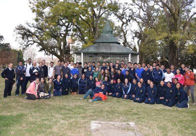 Encuentro deportivo del Colegio Nacional con la Escuela Naval