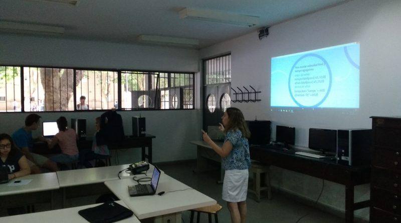 CAÍDA LIBRE:  Actividad Interdisciplinaria entre Informática y Física