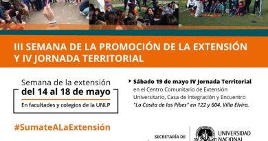 El Colegio Nacional se suma a la Semana de la Promoción de la Extensión