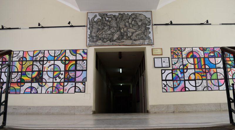 Muestra de estudiantes de 3º año en el espacio de Arte Lido Iacopetti