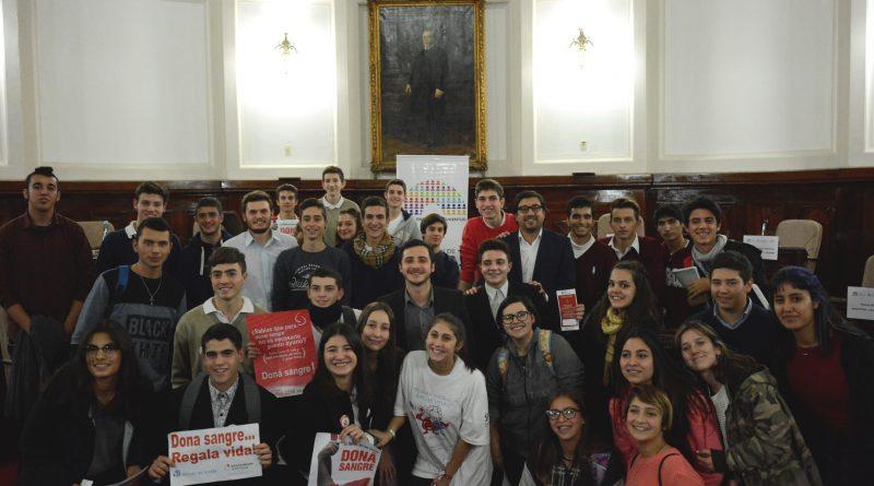 Estudiantes del Colegio participaron del Parlamento Juvenil de La Plata