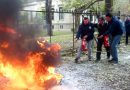 El personal del Colegio se capacita en prevención de incendios