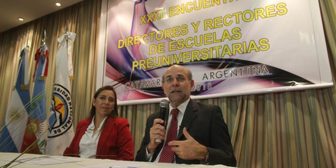 Encuentro de Directores y Rectores de Escuelas Preuniversitarias en la UNCA